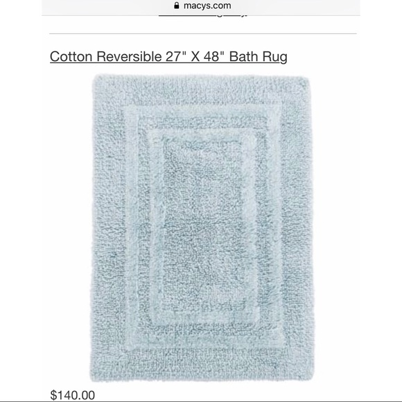 Macy S Hotel Collection Bath Rug 27 X 48
